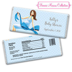 Bonnie Marcus Collection Personalized Chocolate Bar Personalized Candy Baby Shower Favors Baby Bow