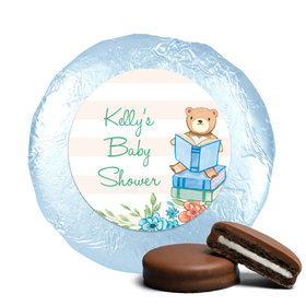 Bonnie Marcus Collection Baby Shower Story Time Milk Chocolate Covered Oreo Cookies Foil Wrapped (24 Pack)