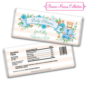 Bonnie Marcus Collection Personalized Chocolate Bar Baby Shower Favors Story Time