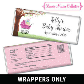 Bonnie Marcus Collection Personalized Chocolate Bar Wrappers Baby Shower Favors Rockabye Baby