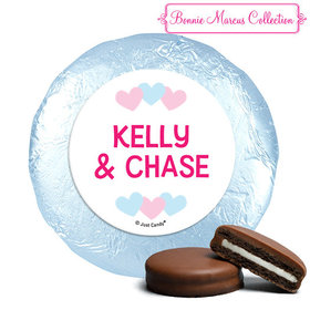 Personalized Bonnie Marcus Gender Reveal Onesies Chocolate Covered Oreos (24 Pack)