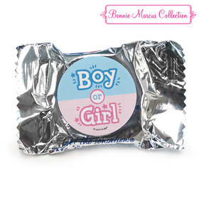 Personalized Bonnie Marcus Gender Reveal Boy or Girl York Peppermint Patties