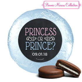 Personalized Bonnie Marcus Gender Reveal Princess or Prince Chocolate Covered Oreos