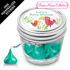 Bonnie Marcus Collection Personalized Event Blossom Jar - Safari Snuggles (12 Pack)