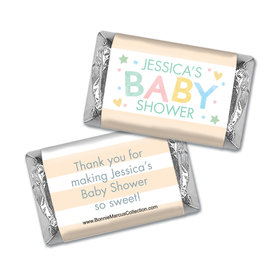 Personalized Bonnie Marcus Sweet Baby Shower Mini Wrappers