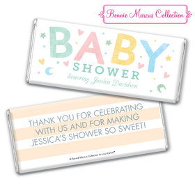 Personalized Baby Shower Sweet Baby Chocolate Bar & Wrapper