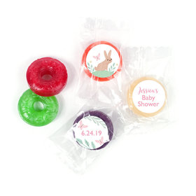 Personalized Bonnie Marcus Baby Shower Forest Fun LifeSavers 5 Flavor Hard Candy