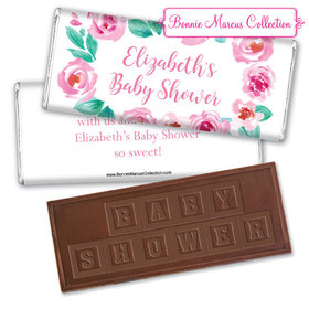 Personalized Bonnie Marcus Birthday Bubbly Party Embossed Chocolate Bar & Wrapper