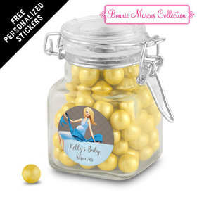 Bonnie Marcus Collection Personalized Latch Jar - Baby Bow (12 Pack)