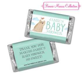 Personalized Bonnie Marcus Baby Shower Hershey's Miniatures Baby Bear