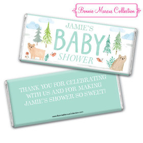 Personalized Bonnie Marcus Baby Shower Baby Bear Chocolate Bar & Wrapper