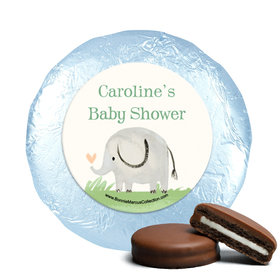 Personalized Bonnie Marcus Safari Nursery Baby Shower Milk Chocolate Covered Oreos (24 Pack)