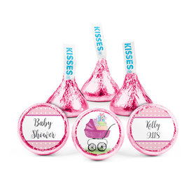 Personalized Baby Shower Rockabye Baby Hershey's Kisses (50 pack)