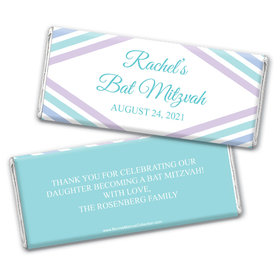 Personalized Bonnie Marcus Bat Mitzvah Hershey's Chocolate Bar & Wrapper with Gold Foil