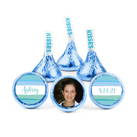 Personalized Bat Mitzvah Watercolor Blessing Hershey's Kisses (50 pack)