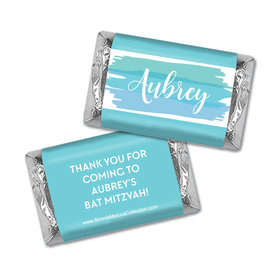 Personalized Bonnie Marcus Bat Mitzvah Hershey's Mini Wrappers