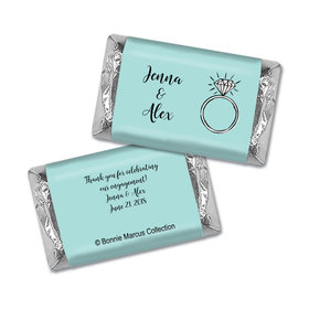 Bonnie Marcus Collection Personalized Mini Candy Bar Wrapper Bada Bling Engagement
