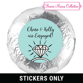 "Bonnie Marcus Collection Engagement Bada Bling 1.25"" Stickers (48 Stickers)"