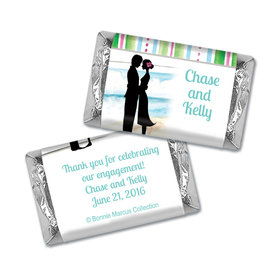 Bonnie Marcus Collection Mini Candy Bar Wrapper Tropical I Do Engagement