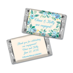 Bonnie Marcus Collection Mini Candy Bar Wrapper Here's Something Blue Engagement