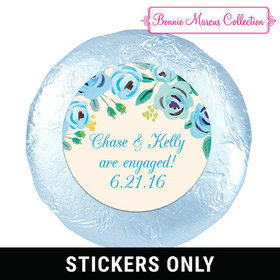 "Bonnie Marcus Collection Engagement FavorsHere's Something Blue 1.25"" Stickers (48 Stickers)"