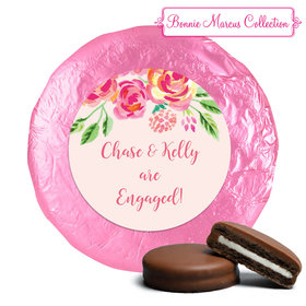 Bonnie Marcus Collection Wedding Engagement Party Favors Milk Chocolate Covered Oreo Cookies (24 Pack)