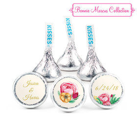 Personalized Bonnie Marcus Engagement Stripes Hershey's Kisses (50 Pack)