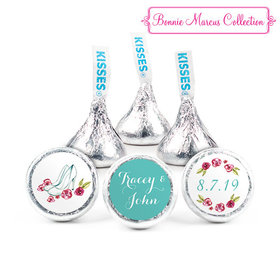 Personalized Bonnie Marcus Engagement Chic Wedding Couple Hershey's Kisses (50 Pack)