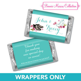 Personalized Bonnie Marcus Engagement Chic Wedding Couple Mini Wrappers Only