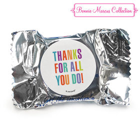 Personalized Bonnie Marcus Business Thank you Stripes York Peppermint Patties