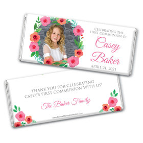 Bonnie Marcus Collection Personalized Chocolate Bar Wrappers Chocolate and Wrapper Story Time Girl Birth Announcement