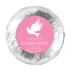 "Personalized Girl First Communion Religious Icons 1.25"" Stickers (48 Stickers)"