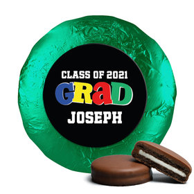 Personalized Bonnie Marcus Collection Colorful Graduation Chocolate Covered Oreos