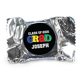 Personalized Bonnie Marcus Collection Colorful Graduation York Peppermint Patties