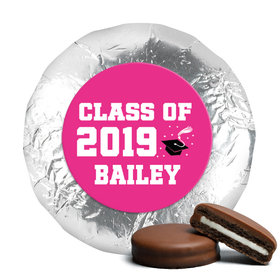 Personalized Bonnie Marcus Collection Grad Cap Graduation Milk Chocolate Covered Oreos (24 Pack)