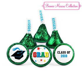 Green Bonnie Marcus Collection Graduation Star Hershey's Kisses (50 Pack)