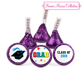 Purple Bonnie Marcus Collection Graduation Star Hershey's Kisses (50 Pack)