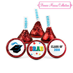 Red Bonnie Marcus Collection Graduation Star Hershey's Kisses (50 Pack)