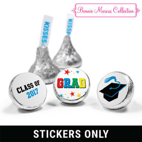 "Bonnie Marcus Collection Star Graduation 3/4"" Sticker (108 Stickers)"