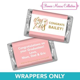 Personalized Bonnie Marcus Heart of a Graduate Birthday Mini Wrappers Only