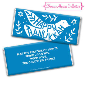 Bonnie Marcus Collection Hanukkah Personalized Chocolate Bar