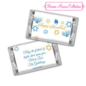 Personalized Bonnie Marcus Hanukkah 8 Crazy Nights Hershey's Miniatures
