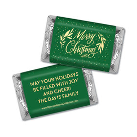 Personalized Bonnie Marcus Festive Leaves Mini Wrappers Only