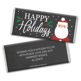 Bonnie Marcus Collection Christmas Personalized Chocolate Bar