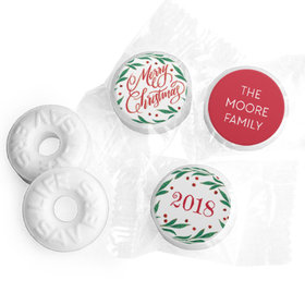 Personalized Bonnie Marcus Christmas Holiday Spirit Life Savers Mints