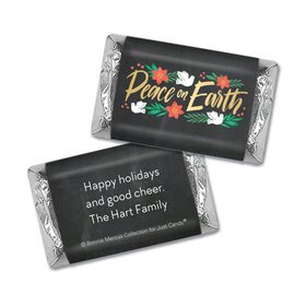 Personalized Bonnie Marcus Christmas Peace on Earth Mini Wrappers Only