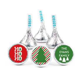 """Personalized Bonnie Marcus Christmas Ho Ho Ho's 3/4"""" Stickers (108 Stickers)"""