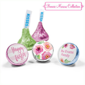 Bonnie Marcus Collection Easter Pink Flowers Hershey's Kisses (50 Pack)