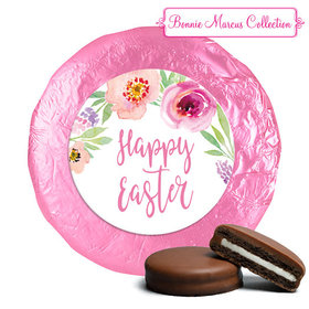 Bonnie Marcus Collection Easter Pink Flowers Milk Chocolate Covered Oreos