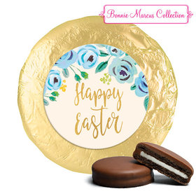 Bonnie Marcus Collection Easter Blue Flowers Milk Chocolate Covered Oreos